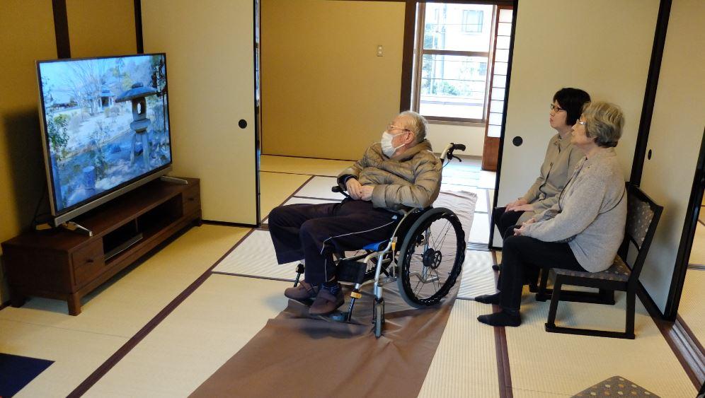 車椅子利用風景 2階